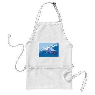 Blue Whale Adult Apron