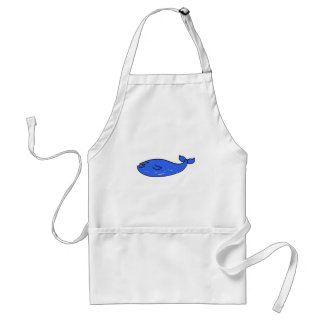 blue-whale adult apron