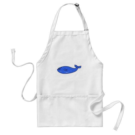 blue-whale adult apron