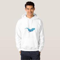 Blue whale alone hoodie