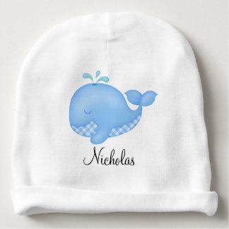 Blue Whale Baby Beanie