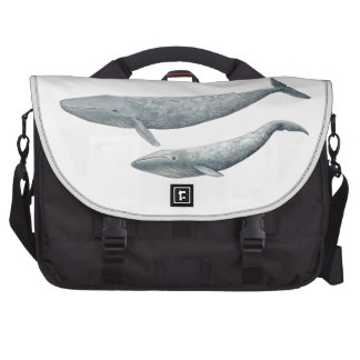 Blue whale bag for laptop