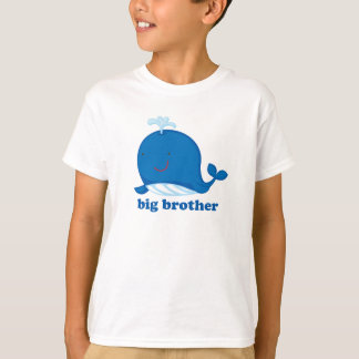 Blue Whale Big Brother T-Shirt