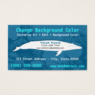 Blue Whale Business Card