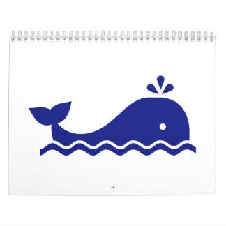 Blue whale calendar
