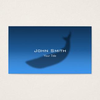 Blue Whale Echo Elegant Music Business Card