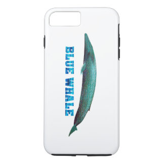 Blue Whale image for iPhone-6-Plus-Tough iPhone 8 Plus/7 Plus Case