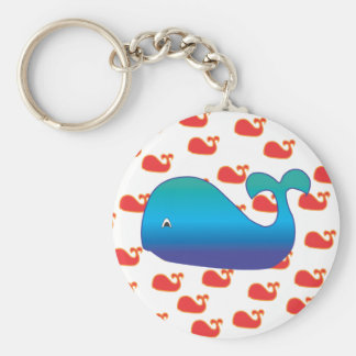 Blue Whale Keychain