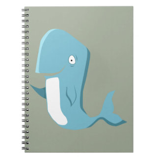 blue whale notebook