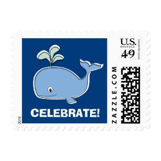 Blue Whale Postage Stamps