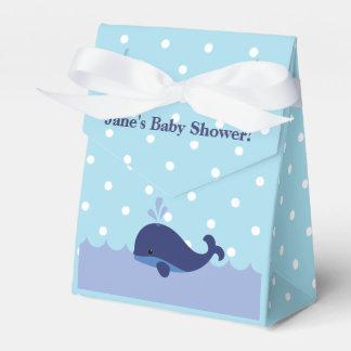 Blue Whale Themed Boy Baby Shower Favor Box! Favor Box