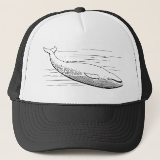 Blue Whale Trucker Hat