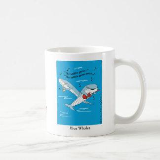 """""""Blue Whales"""" Coffee Mug"""