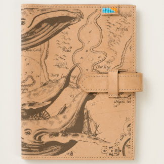 Blue Whales Family White Journal
