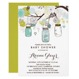 mason jar baby shower invitations announcements zazzle