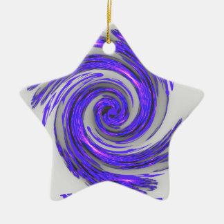 Blue Whirl Hakuna Matata Style.png Ceramic Ornament
