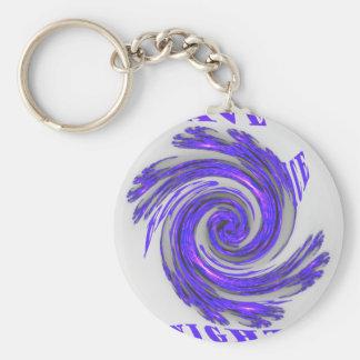 Blue Whirl Hakuna Matata Style.png Keychain