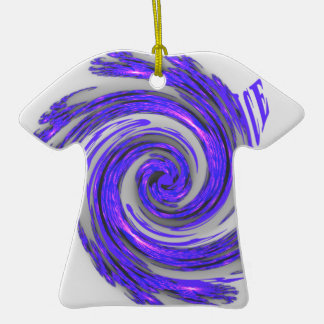 Blue Whirl Hakuna Matata Style.png Double-Sided T-Shirt Ceramic Christmas Ornament