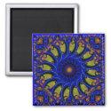 Blue Whirligig magnet