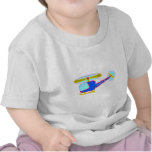 Blue Whirly-Curly Helicopter T-shirt