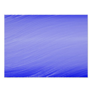 Blue Whisps Print