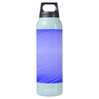 Blue Whisps 16 Oz Insulated SIGG Thermos Water Bottle