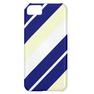 Blue,White and Creme Striped iPhone 5 Cover