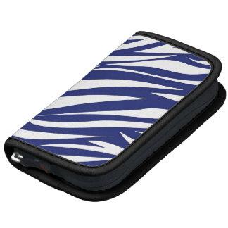Blue White Animal Stripe Pattern AS Planner