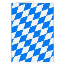 Blue & White Argyle Pattern