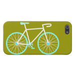Blue & White Bicycle Cases For iPhone 5