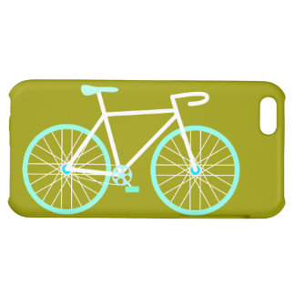 Blue & White Bicycle iPhone 5C Case