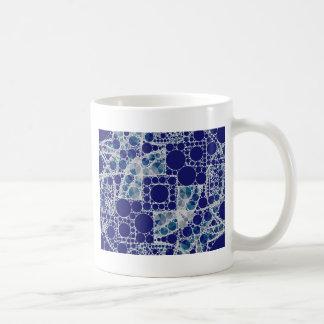 Blue White Bling Coffee Mug