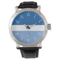 Blue White Blue Watch