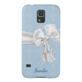 Blue & White Christian Samsung Galaxy S5 Case