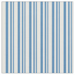 [ Thumbnail: Blue & White Colored Pattern Fabric ]