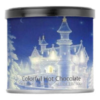 Blue White Colorful Hot Chocolate Drink Mix