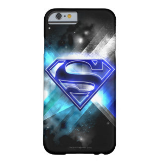 Blue-White Crystal Superman Logo Barely There iPhone 6 Case