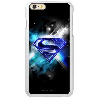 Blue-White Crystal Superman Logo Incipio Feather® Shine iPhone 6 Plus Case