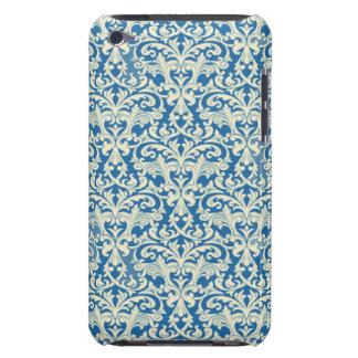 Blue White Damask iPod Touch 4G Case Speck Barely There iPod Case
