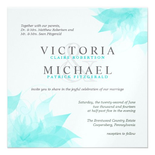 Square Wedding Invitations and get inspiration to create nice invitation ideas