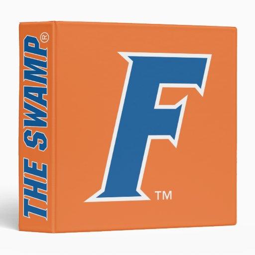 Blue & White Florida F Logo Vinyl Binders