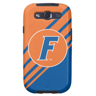 Blue & White Florida F Logo Samsung Galaxy SIII Covers