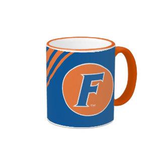 Blue & White Florida F Logo Coffee Mug