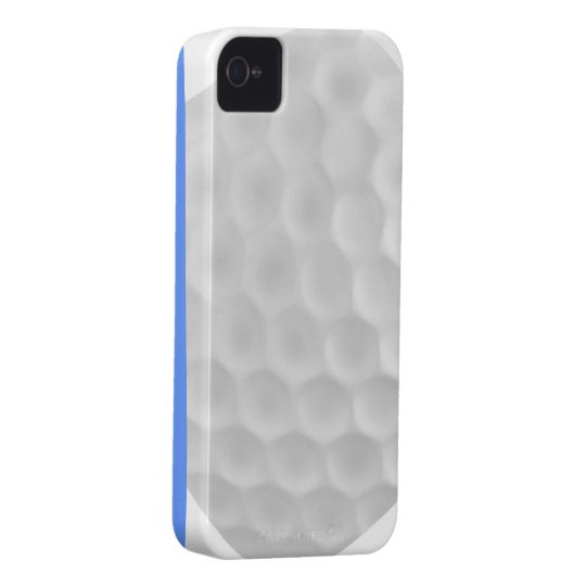 Blue White Golf Ball Iphone 4/4S Case