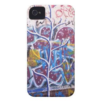 Blue & White Graffiti iPhone 4 Case