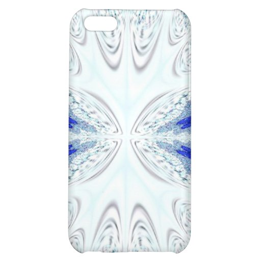 Blue White Lace Speck Case Case For iPhone 5C