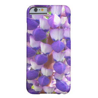 Blue & white lupin phone case