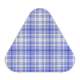 Blue White Plaid 2 Speaker