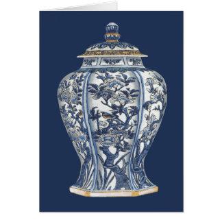 Blue & White Porcelain Vase by Vision Studio Card
