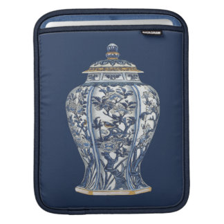 Blue & White Porcelain Vase by Vision Studio Sleeves For iPads